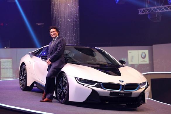 Sachin Tendulkar-BMW i8