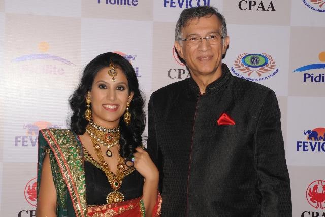 Priyanka Khurana Goyal with Niranjan Hiranandani